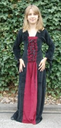 "Kinder-Samtkleid ""Circe"""